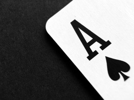 An ace card