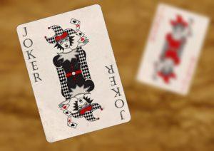 A Joker card